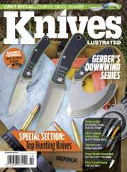 Knives Illustrated Magazine Subscription September 1st, 2021 Issue