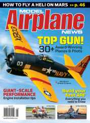 Model Airplane News Magazine Subscription August 1st, 2021 Issue