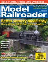 Model Railroader Magazine Subscription November 1st, 2020 Issue