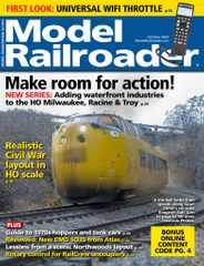 Model Railroader Magazine Subscription October 1st, 2020 Issue