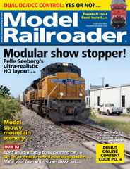 Model Railroader Magazine Subscription February 1st, 2021 Issue
