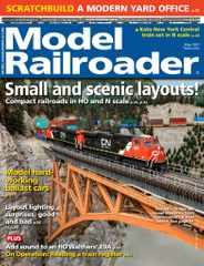 Model Railroader Magazine Subscription May 1st, 2021 Issue