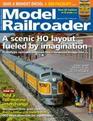 Model Railroader Magazine Subscription September 1st, 2021 Issue
