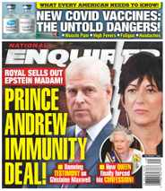 National Enquirer Magazine Subscription December 7th, 2020 Issue