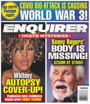 National Enquirer Magazine Subscription October 26th, 2020 Issue