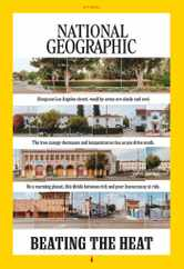 National Geographic Magazine Subscription July 1st, 2021 Issue