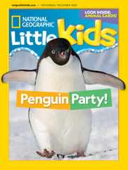National Geographic Little Kids Magazine Subscription November 1st, 2020 Issue