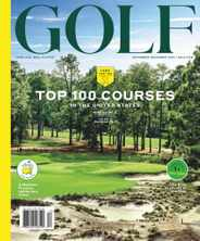 Golf Magazine Subscription November 1st, 2020 Issue