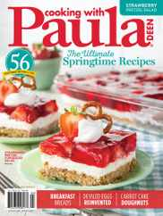 Cooking With Paula Deen Magazine Subscription March 1st, 2021 Issue