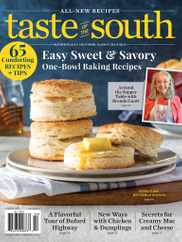 Taste Of The South Magazine Subscription January 1st, 2021 Issue
