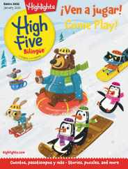 Highlights High Five Bilingue Magazine Subscription January 1st, 2021 Issue