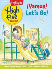 Highlights High Five Bilingue Magazine Subscription June 1st, 2021 Issue