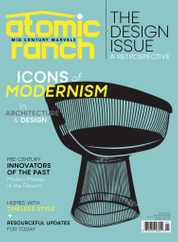 Atomic Ranch Magazine Subscription November 1st, 2020 Issue
