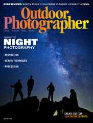 Outdoor Photographer Magazine Subscription August 1st, 2021 Issue