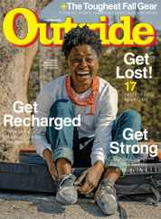 Outside Magazine Subscription September 1st, 2020 Issue