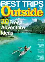 Outside Magazine Subscription November 1st, 2021 Issue