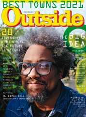 Outside Magazine Subscription September 1st, 2021 Issue