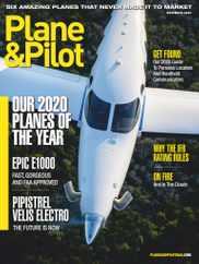 Plane & Pilot Magazine Subscription November 1st, 2020 Issue