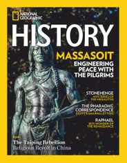 National Geographic History Magazine Subscription November 1st, 2020 Issue