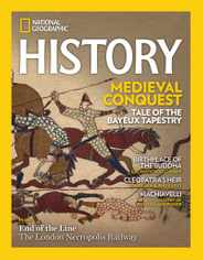 National Geographic History Magazine Subscription September 1st, 2020 Issue