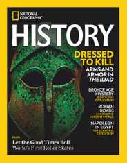 National Geographic History Magazine Subscription January 1st, 2021 Issue