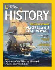 National Geographic History Magazine Subscription March 1st, 2021 Issue