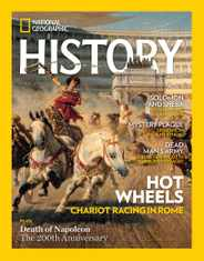 National Geographic History Magazine Subscription May 1st, 2021 Issue