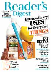 Reader's Digest Magazine Subscription October 1st, 2020 Issue