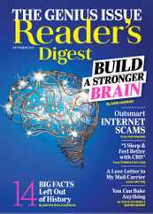 Reader's Digest Magazine Subscription September 1st, 2020 Issue