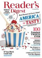 Reader's Digest Magazine Subscription July 1st, 2021 Issue