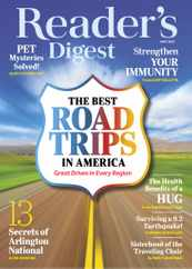 Reader's Digest Magazine Subscription May 1st, 2021 Issue
