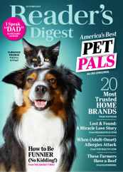 Reader's Digest Magazine Subscription October 1st, 2021 Issue