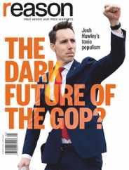 Reason Magazine Subscription April 1st, 2021 Issue
