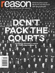 Reason Magazine Subscription February 1st, 2021 Issue