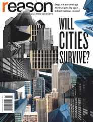 Reason Magazine Subscription January 1st, 2021 Issue