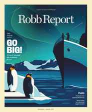 Robb Report Magazine Subscription December 1st, 2020 Issue