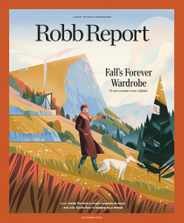 Robb Report Magazine Subscription September 1st, 2020 Issue