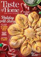 Taste of Home Magazine Subscription December 1st, 2020 Issue