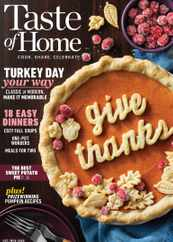 Taste of Home Magazine Subscription October 1st, 2020 Issue