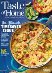 Taste of Home Magazine Subscription August 1st, 2021 Issue