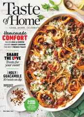Taste of Home Magazine Subscription February 1st, 2021 Issue