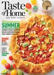 Taste of Home Magazine Subscription June 1st, 2021 Issue