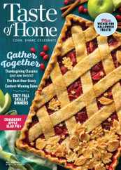 Taste of Home Magazine Subscription October 1st, 2021 Issue