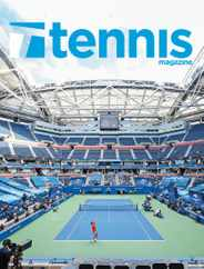 Tennis Magazine Subscription November 1st, 2020 Issue