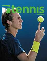 Tennis Magazine Subscription July 1st, 2021 Issue