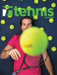 Tennis Magazine Subscription March 1st, 2021 Issue
