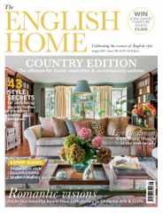The English Home Magazine Subscription August 1st, 2021 Issue