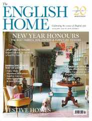 The English Home Magazine Subscription January 1st, 2021 Issue