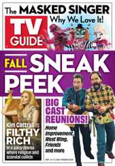 TV Guide Magazine Subscription September 14th, 2020 Issue