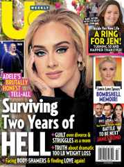 Us Weekly Magazine Subscription October 25th, 2021 Issue